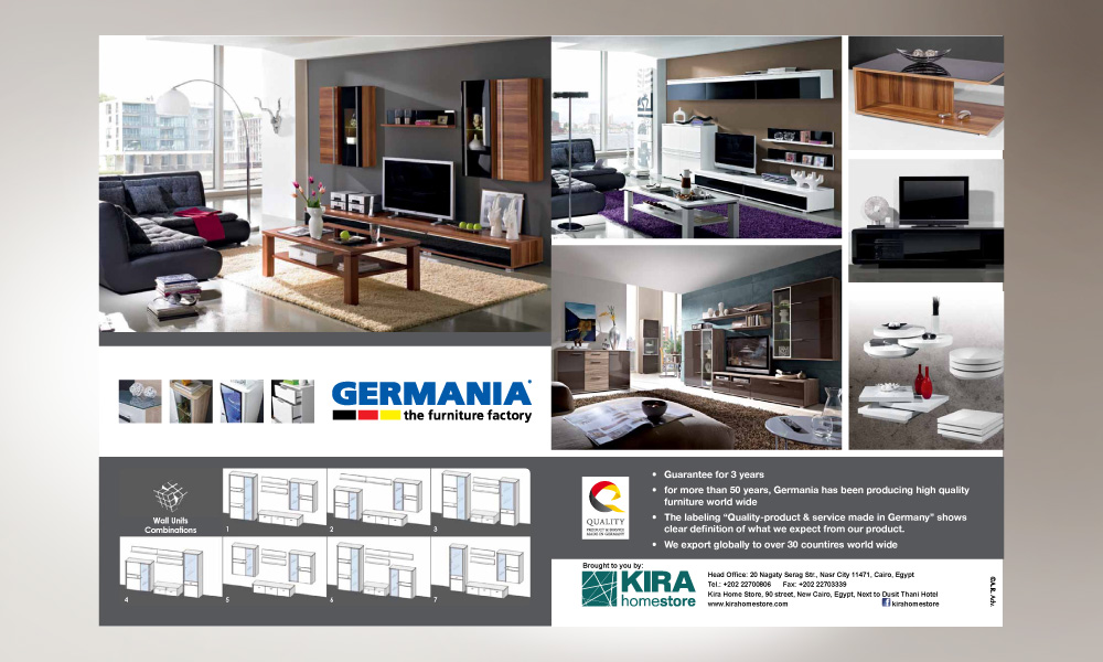 GERMANIA Magazine AD