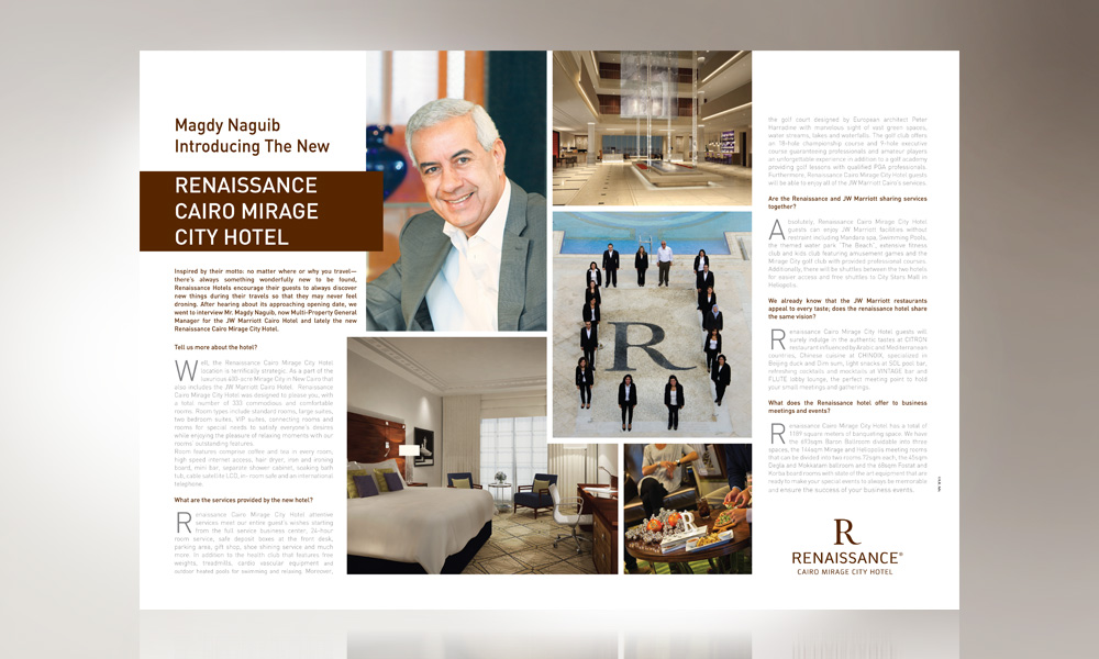 Renaissance Magazine Advertorial