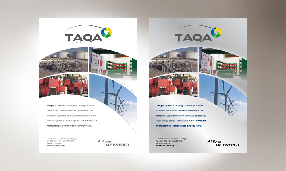TAQA Magazine ADs